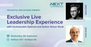 .NEXT conference with Simon Sinek