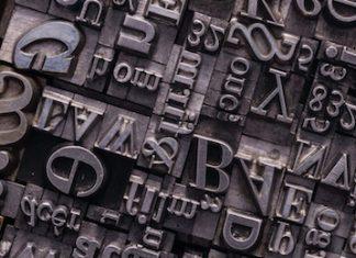 typesetting letters