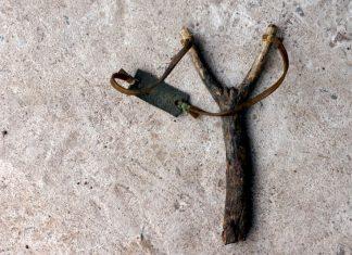 old slingshot