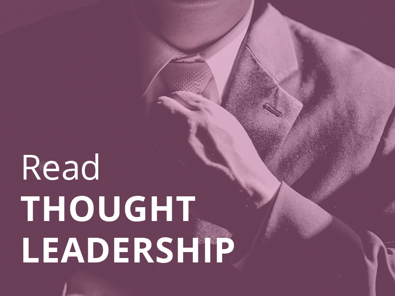 Read | Thought leadership content