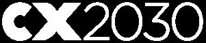 CX2030 logo horizontal white