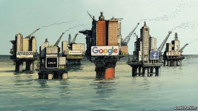 big tech companies on oil rigs david parkins economist